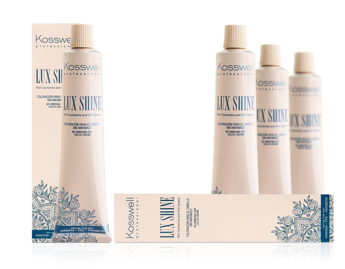 Luxshine Von Kosswell Professionelle Haarfarbe Ohne Ammoniak